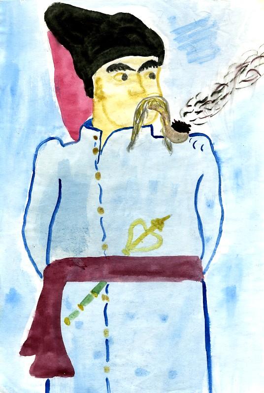 рисунок литературного героя 6 класс